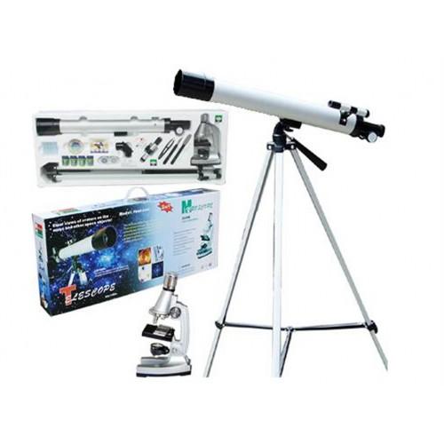 Teleskop + Mikroskop TWMP-0406