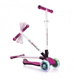 Globber trotinet elite solid - Pink 18130