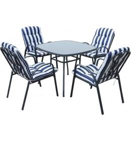 Baštenski set Veneto - Sto i 4 stolice