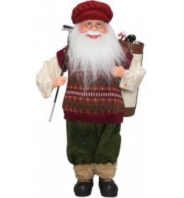 Deda mraz sa poklonima 45 cm