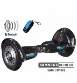Xplorer Hoverboard Funk black 10""