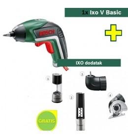 Aku odvijač Bosch IXO V Basic + IXO dodatak