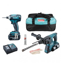 Akumulatorski set Makita DLX2071M