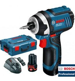 Akumulatorski vibracioni odvrtač Bosch GDR 10,8-LI Professional kofer