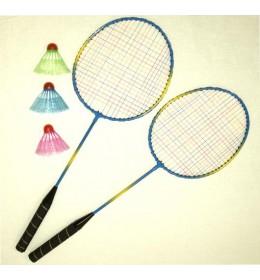 Badminton reketi + loptice