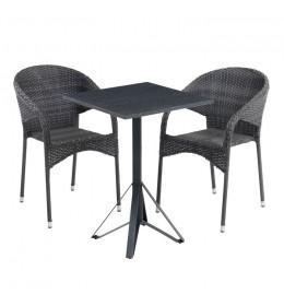 Baštenska garnitura Kregy sa dve stolice
