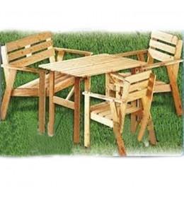 Baštenski set Wood