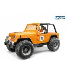 Bruder džip Cross Country oranž sa vozačem