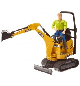 Bruder rovokopač JCB mikro Excavator 8010 CTS sa figurom