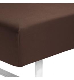 Čaršav sa lastišem Kronborg 90 cm x 200 cm x 35 cm braon