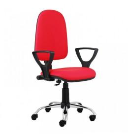 Daktilo stolica M 170/cp/hrom/pvc