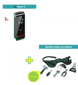 Digitalni laserski daljinomer Zamo II + Igračka pojas sa alatom