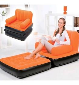Fotelja na naduvavanje Bestway narandžasta