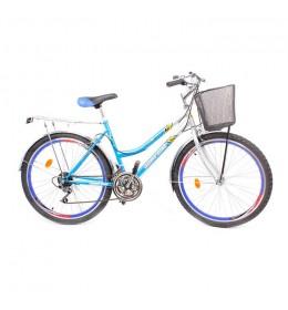 """Gradski bicikl Glory Bike 26"""" Plavi"""