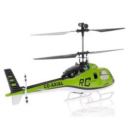 Helikopter na daljinsko upravljanje RTF CO AXIAL BIG LAMA zeleni