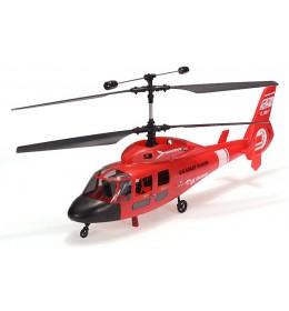 Helikopter na daljinsko upravljanje RTF DAUPHIN crveni