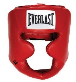 Kaciga za boks Everlast Full Protection crvena
