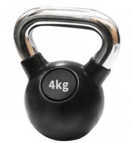 Kettlebell 4 kg - gumirani
