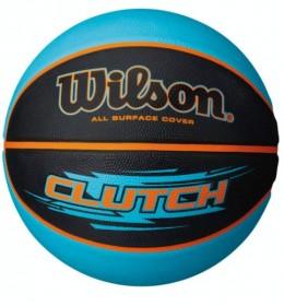 Košarkaška lopta Wilson Clutch Black/Aqua SZ7
