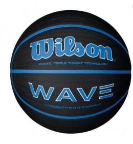 Košarkaška lopta Wilson Wave Phenom BLK/BLU