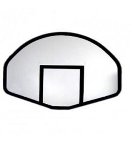 Košarkaška tabla POLIESTER ovalna