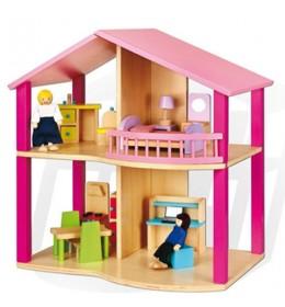 Kuća za lutke sa opremom