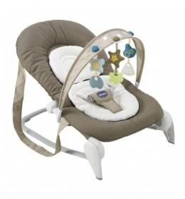 Ležaljka ljuljaška za bebe Chicco Hoopla maslinasto zelena