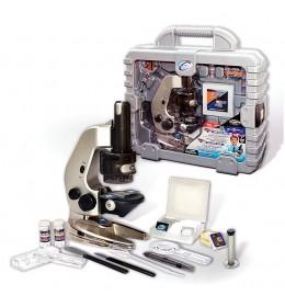Mikroskop 58 elemenata u koferu 8807
