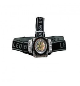Naglavna lampa LED-5 3AAA Womax