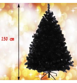 Crna novogodišnja jelka Wonder Black 150 cm