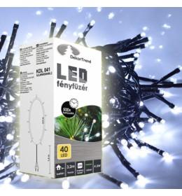 Novogodišnje hladno bela LED lampice 40 sijalica