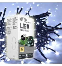 Novogodišnje hladno bele LED lampice 80 sijalica