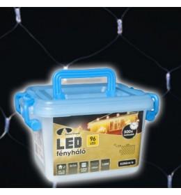 Novogodišnja LED svetleća mreža hladno bela 2m za spoljašnju i unutrašnju upotrebu