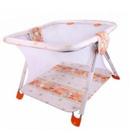 Ogradica za bebe Berber Horn narandžasta