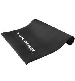 Prostirka za vežbanje Xplorer 3 mm crna