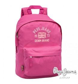Ranac za školu Pepe Jeans Denim Brand Pink