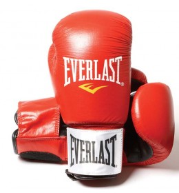 Rukavice za boks Everlast Leather