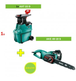 Seckalica drobilica grana Bosch AXT 22 D + Testera AKE 40-19 S GRATIS