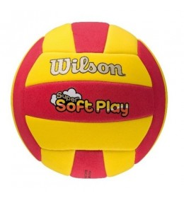 Lopta za odbojku Soft Play Red/Yellow WTH3509XB