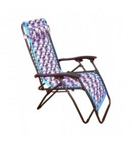 Stolica ležaljka šarena
