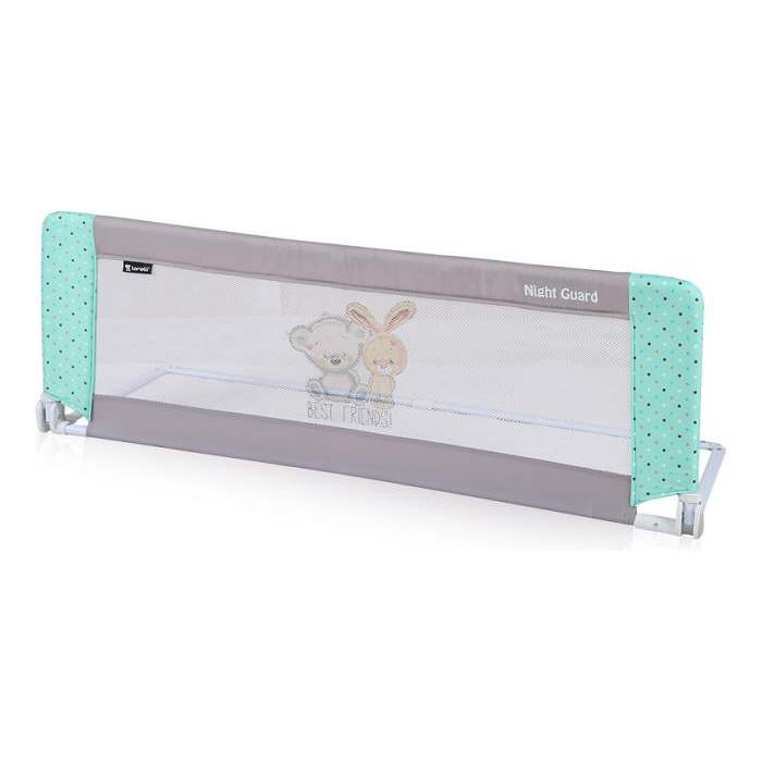 Zaštitna Ograda Za Krevet Grey & Green Friends