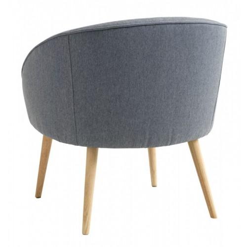 Fotelja Ore prljavo plava