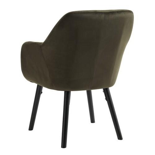 Fotelja Baršun tamno zelena
