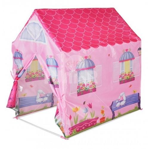 Šator kućica roze 55420