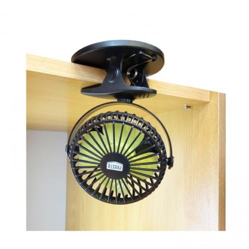 Punjivi mini ventilator sa štipaljkom Prosto