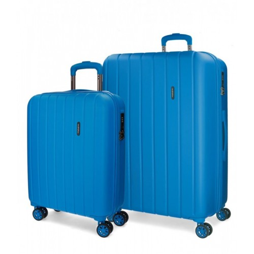 Set kofera Movom Wood Plava