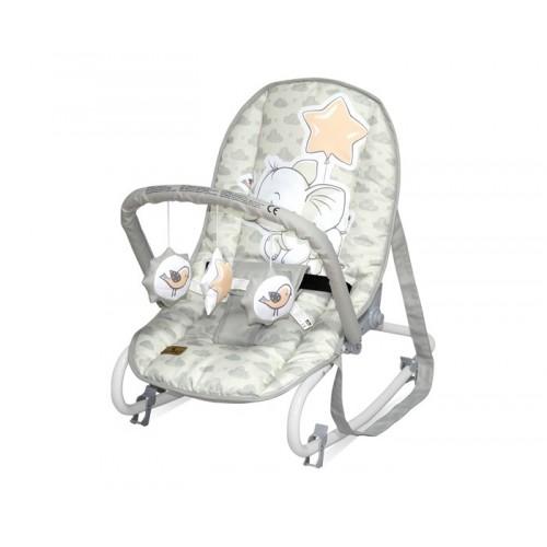 Ležaljka za bebe Grey Elephant