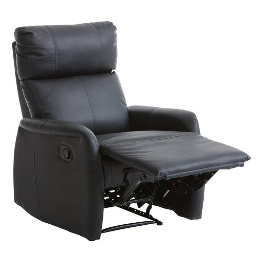 Podesiva fotelja Velm crna