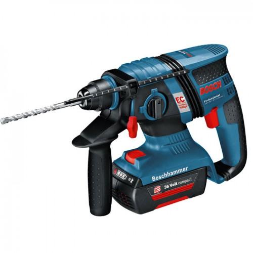 Akumulatorska hamer bušilica Bosch GBH 36 V-EC Compact 2 x 1,3 Ah