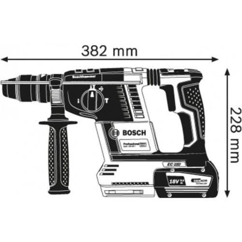 Akumulatorski elektro-pneumatski čekić za bušenje SDS-plus